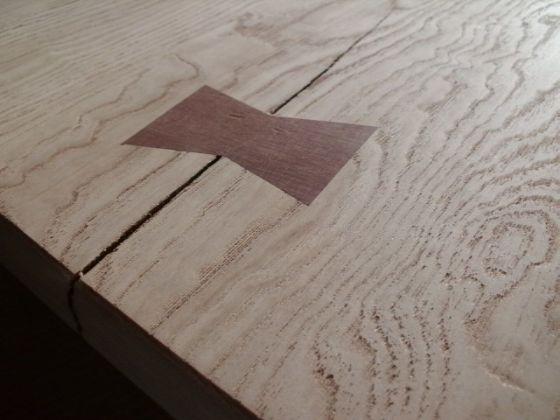 栗(くり)無垢の座卓2