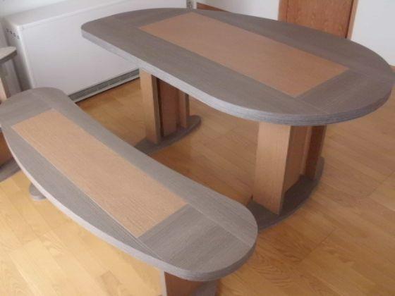 変形2WAYダイニングテーブル&ベンチ4